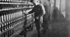 A child laborer (Photo by Lewis Hine, via  NC Museum of History.