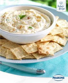 Our Double Onion Dip may bring tears to your eyes. Tears of joy, of course.