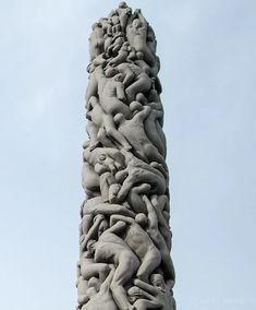 Frogner Park in Oslo – The ViewDeck Oslo, Norway, Greek, Statue, Park, Parks, Greece, Sculptures, Sculpture