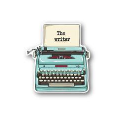 The Writer - Vinyl Stickers - Gloss Stickers