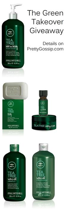 Plant a free tree AND enter to win these amazing tea tree products! Click for details. #PaulMitchell #GreenTakeover @paulmitchellus