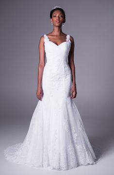 Strapless Ruched Mermaid Gown With Jeweled Waist - UCenter Dress Backless Mermaid Wedding Dresses, Wedding Dresses With Straps, Sweetheart Wedding Dress, Black Wedding Dresses, Perfect Wedding Dress, Mermaid Dresses, Mermaid Gown, Wedding Dresses South Africa, African Fashion Dresses
