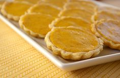 These Peas are Hollow: Pumpkin Tartlets + A Giveaway!
