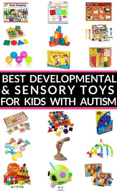 21 Autism Toys Every Mom Needs To Know About (Developmental + Sensory Toys for Autistic Kids)