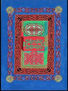 Celtic Art MandalaTrippy Art Psychadelic Art by CelticMandala