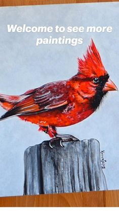 Animal Paintings, Acrylic Paintings, Bird Sketch, Bird Illustration, Painting Techniques, Watercolor Paper, Sketches, Wall Art, Unique