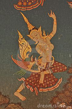 Thai Painting by Lung88, via Dreamstime