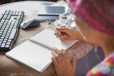 Don't let these common myths keep you from experiencing the joy and emotional healing that can happen when you journal through cancer. Small Notebook, Common Myths, Fancy Schmancy, Family Humor, Emotional Healing, Pen And Paper, Healthy Mind, Simple Way, Cancer