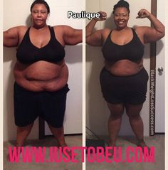 Weight Loss Story - www.blackweightlosssuccess.com/paulique-lost-90-pounds/ Paulique lost 90.2 pounds. She made loving what she saw when she looked in the mirror a priority.