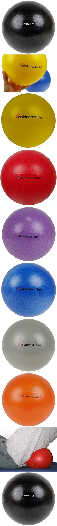 "Isokinetics Inc. Brand Mini Exercise Ball - 25cm (7"" to 9"") - Black"