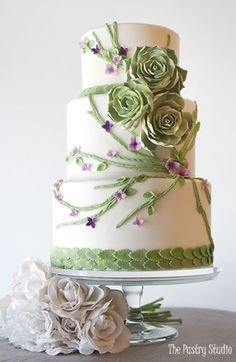 Luxury Custom Wedding Cakes in Daytona Beach FL | The Pastry Studio
