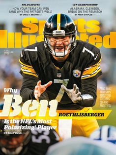 Through emotional storytelling and award-winning photography, Sports Illustrated provides you with complete coverage of all your favorite sports, including the NFL, College Football, Baseball, College Basketball, the NBA and more. Steelers Meme, Pittsburgh Steelers Football, Pittsburgh Sports, Football Memes, Seattle Football, Nfl Football Helmets, Pittsburgh City, Si Cover, Sports Illustrated Covers