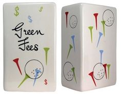 Make More Cents is pleased to offer our Green Fees Money Fund Money Change Bank. Start saving for your next golf outing with our wonderful Green Fees Money Change Bank. This ceramic money box is perfect for the men or women in your life who love to play golf!