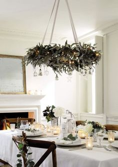 39 Weihnachten Kronleuchter Und Kronleuchter Dekor Ideen 39 Christmas chandeliers and chandelier decor ideas - Christmas is not there yet, but a perfect decor, create an ambience and a fantastic holid