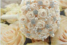 como fazer flores de fita de cetim para cabelo - Pesquisa Google