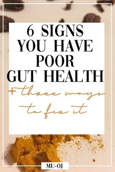 6 Signs You Have Poor Gut Health & 3 Ways to Heal It 6 Signs You Have Poor Gut Health & 3 Ways to Heal ItConditions like PCOS are often associated with poor gut health and bloating. If you have Health Facts, Health Diet, Health And Wellness, Gut Health Foods, Health Benefits, Pcos, Improve Gut Health, Cucumber Benefits, Good Mental Health