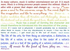 So many great quotes about music! My brain can't handle that much awesomeness at once! LOL.