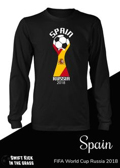 5412ea83e tshirt · FIFA World Cup Spain National Team Soccer Victory in 2018 Russia  WC.  Soccer