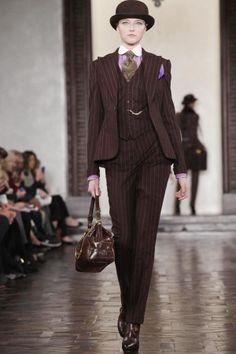 Women Pinstriped Suit, Love it!
