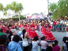Gran parada folclórica