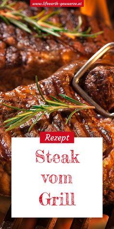 Ein gutes Stück Fleisch gehört auf jeden richtigen Grill. Dieses Rezept für ein saftiges Steak garantiert den puren Fleischgenuss unter freiem Himmel.