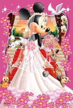 <3 Mickey & Minnie Wedding <3