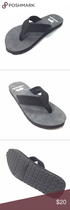 New Just In Black suede sandals with arch support New with Tags Just Arrived Napa model Flip flop features a genuine leather/suede strap and top sole delivering a tremendous feel, longevity and timeless style. Our exceptional midsole arch support will help the foot bed mold to the counter of your feet for total comfort. Black leather suede flip flop All sizes available 5,6,7,8,9,10, if you are a half size go up to the next size. colors available: brown, black, beige; listing is for black…