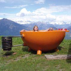 heated bathtube (800 lt.)