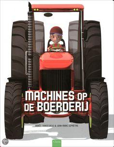 bol.com | Machines op de boerderij, Agnès Vandewiele | 9789044820133 | Boeken