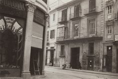 Paseo de Ruzafa desde la esquina de la calle Martínez Cubells. Años 30.