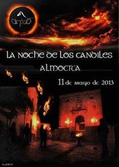 La noche de los candiles en Almócita, 2013. Proyecto rumor Alpujarra Almería.