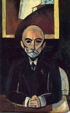 Henri Matisse - Portrait d'Auguste Pellerin (1916)