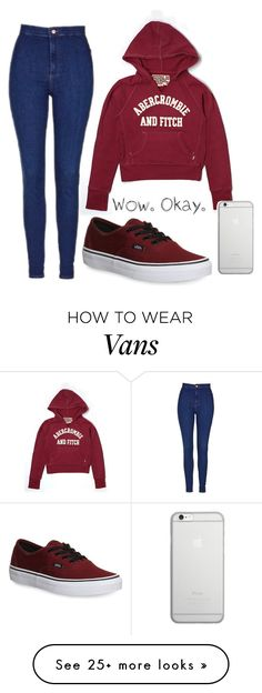 """""""Untitled #413"""" by freedom2095 on Polyvore featuring Topshop, Vans, Abercrombie & Fitch and Native Union"""