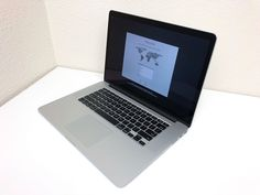 "15"" Apple MacBook Pro RETINA 2.6 GHz i7 512GB SSD 16GB RAM DUAL GFX New Battery!"