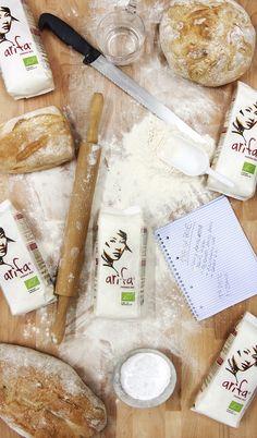 Arifa è la nuova farina Biologica ad alta digeribilità. Per ulteriori informazioni visita il sito www.arifa.it o acquistala direttamente su www.ruggerishop.it