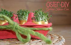 [DIY] OSTERDEKO - Goldene Kresse-Eier
