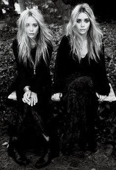 Gêmes Olson eternas amantes do 90's style.