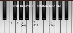 I have a best friend and she loves Hamilton not risking it