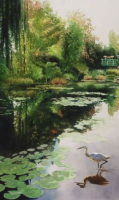 "Paul Jackson, ""Stalking Monet,"" ca. 2011."