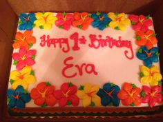 Happy Birthday Banner Evas 1st Birthday Party Pinterest