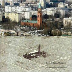 Neoromański kościół pod wezw. św. Augustyna zbudowany w l. 1890-1896. W czasie wojny był terenie getta. https://web.facebook.com/WarszawaDawna/photos/a.1541918712787352.1073741842.1536477876664769/1665875613724994/?type=3&theater