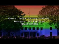 Visa Equality: US Embassy Manila Celebrates Pride Month 2014