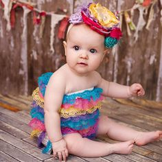 Rows upon rows of lovable lace make this ruffly romper oh-so-sweet. Baby Lace Rompers #zulily