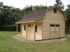 Gambrel cabins for sale in ohio amish buildings cabin for Gambrel barns for sale