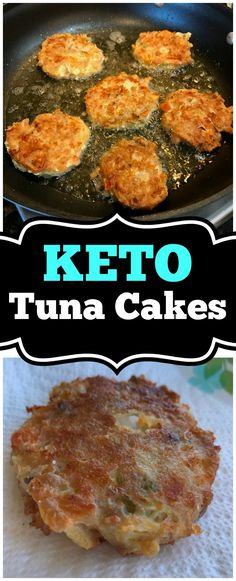 This Keto Tuna Cakes recipe was one of the very first Keto friendly recipes I've