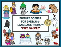Free! Picture Scenes for Speech & Language Therapy