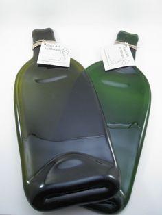 Aplati plat bouteille de verre affaiss par - Comment couper une bouteille en verre ...
