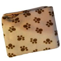 Soft Fleece Pet Blanket/Furniture Throw (Brown) | Dog Supplies
