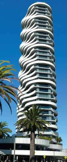 The Wave Resort Broadbeach, Gold Coast, Australia by DBI Design