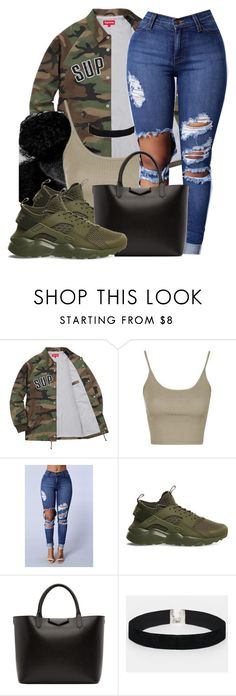"""Untitled #632"" by b-elkstone ❤ liked on Polyvore featuring Topshop, NIKE, Givenchy and ASOS"